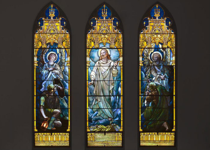 Tiffany Cathedral Windows